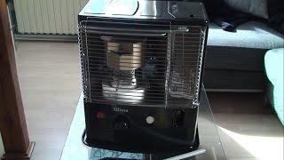 Produkttest - Petroleumheizung R4024TC von Qlima im Test