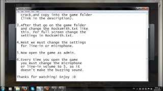 how to play rocksmith 2014 with no real tune cable and without the buzzing sound