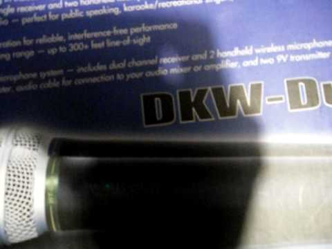 Unboxing & Review Nady DKW Duo (Wireless Microphone)