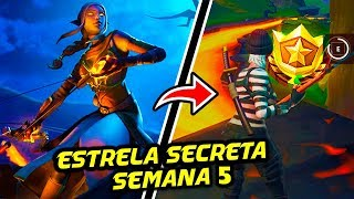 STAR SECRET SEASON 8 WEEK 5-Fortnite Battle Royale