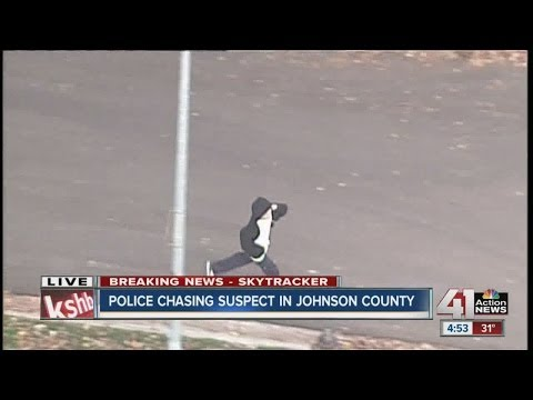 Police chase in Johnson County