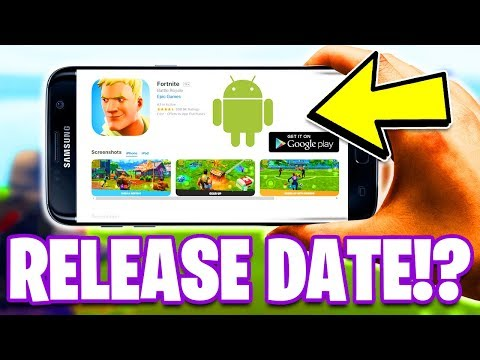 Fortnite Mobile ANDROID Download RELEASE DATE Info! (Fortnite Season 4)