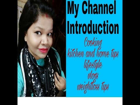 My Channel Introduction | Cooking & Lifestyle by Nikki