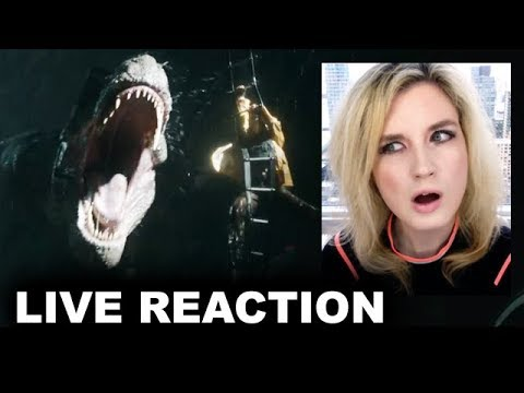 Jurassic World 2 Final Trailer REACTION