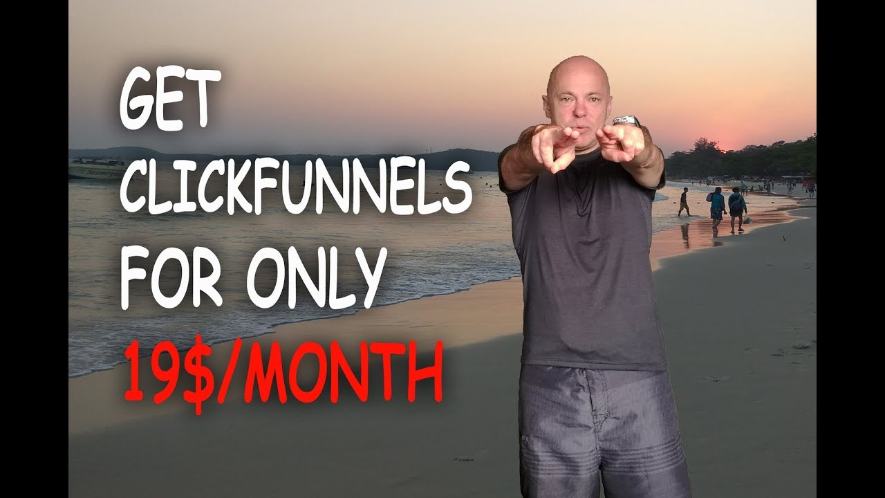 2019 Clickfunnels New Price - How to get Clickfunnels for $19 a month + FREE Bonus. Discount Code!