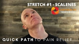 Quick Path to Pain Relief - Stretch 1 - Scalenes
