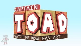 watch me draw CAPTAIN TOAD (treasure tracker)