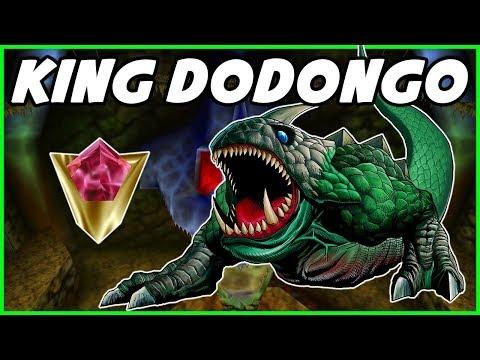 The Legend Of Zelda Ocarina Of Time *KING DODONGO* Dodongo's Cavern Lore (Legend Of Zelda)