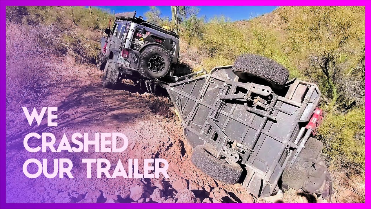 Download WE ROLLED OUR TURTLEBACK EXPEDITION TRAILER (Part 1. The Recovery)