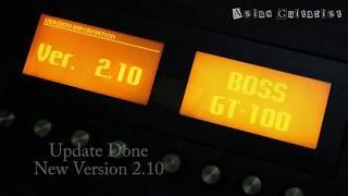 Baixar Upgrade BOSS GT 100