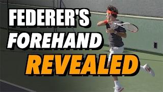 Roger Federer Forehand Secrets + Free Download!