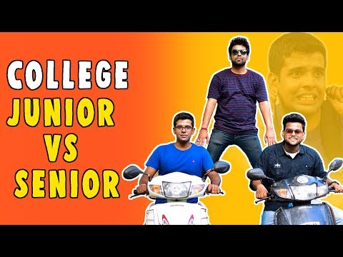 COLLEGE JUNIOR VS SENIOR | The Half-Ticket...
