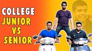 COLLEGE JUNIOR VS SENIOR | The Half-Ticket Shows
