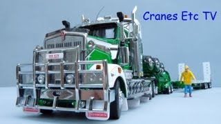 TWH Doolans Drake Swing Wing Trailer + Kenworth T908 by Cranes Etc TV