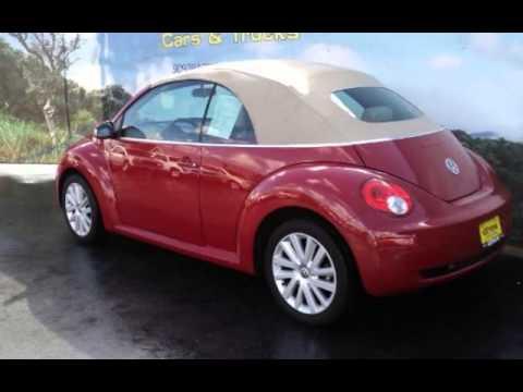 2009 Volkswagen Beetle Convertible for sale in Hemet,CA - Preowned Beetles for sale