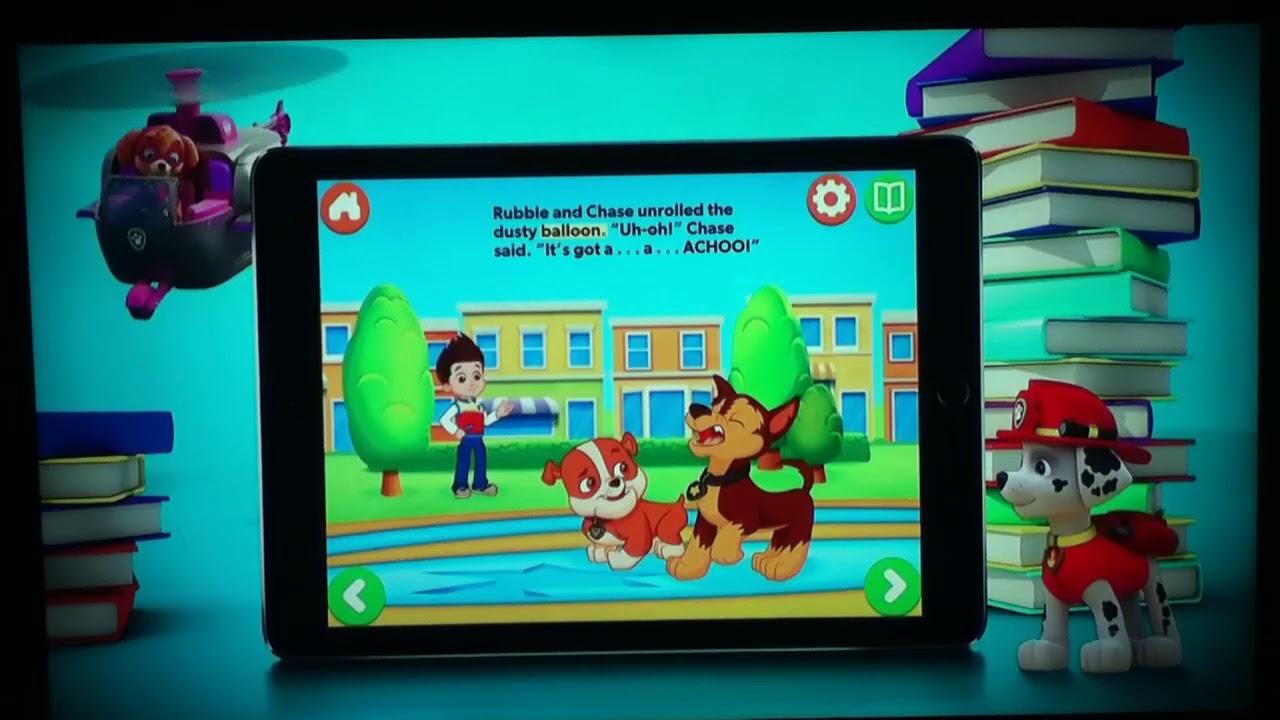 Nick Jr. Books app Promo