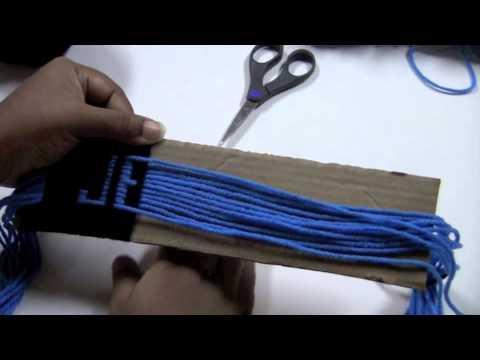 Gifted Hands #2 ( How I do my thread bracelets)