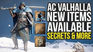 New Limited Time Items, Secret Armor Combinations & More In Assassin's Creed Valhalla (AC Valhalla)