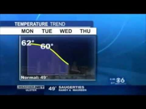 WRGB/CBS 6 (Albany NY): Weather w/Neil Estano, 11/14/2011 6:47am EST