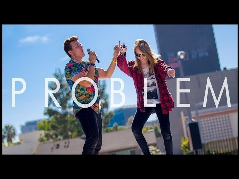 Problem - Ariana Grande Tyler Ward Acoustic Cover - Iggy Azalea - One Less Problem