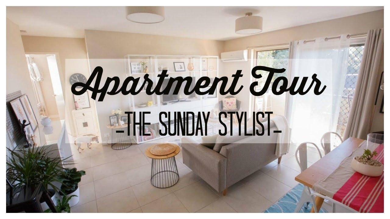Apartment Tour Australian Home Decor Style Decorating The Sunday Stylist Youtube