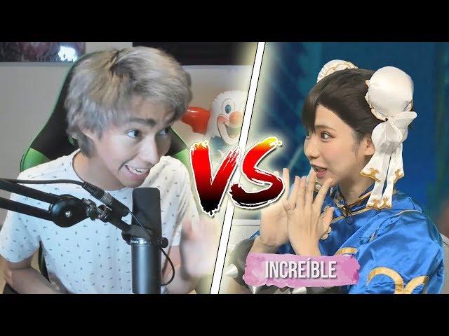JUGANDO CON UNA JAPONESA!! - Street Fighter V | Fernanfloo