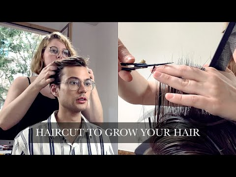 Haircut For Growing Process + Hairstyle | Men's Haircut 2019 | Ruben Ramos