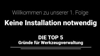 Top 5 Gründen (2/6) - Hoher Installationsaufwand? Nicht mit TDM Cloud Essentials!