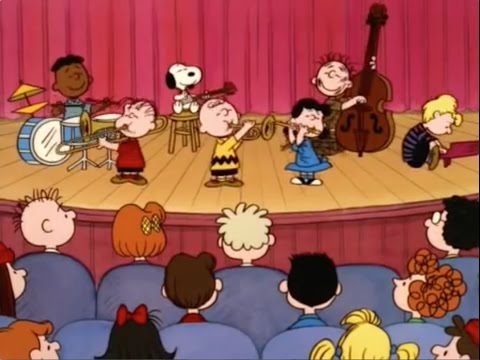 Peanuts Gang Singing 25 Or 6 To 4 : Chicago