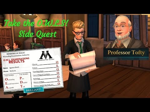 Take The O.W.L.s Side Quest Harry Potter Hogwarts Mystery