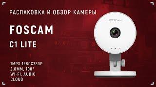 Foscam С1 Lite - видеообзор камеры с демонстрацией подключения и настройки