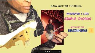 Alessia Cara  'Wherever I Live' | Easy Guitar Tutorial  w Rift for Beginners