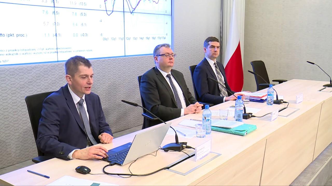 Projekcje inflacji i PKB – marzec 2018