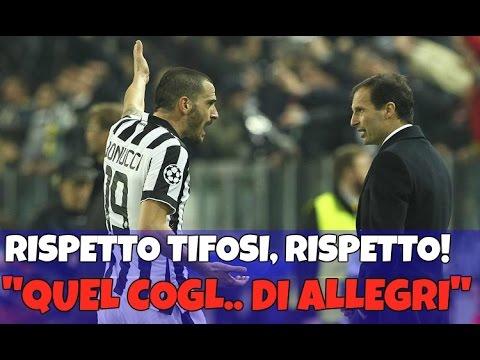 """""""BONUCCI NON GIOCA COL PORTO? COLPA DI QUEL C*GLIONE DI ALLEGRI""""  - EH NO!!!!"""