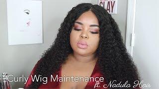 Curly Hair Maintenance & Styling | ft. Nadula Hair