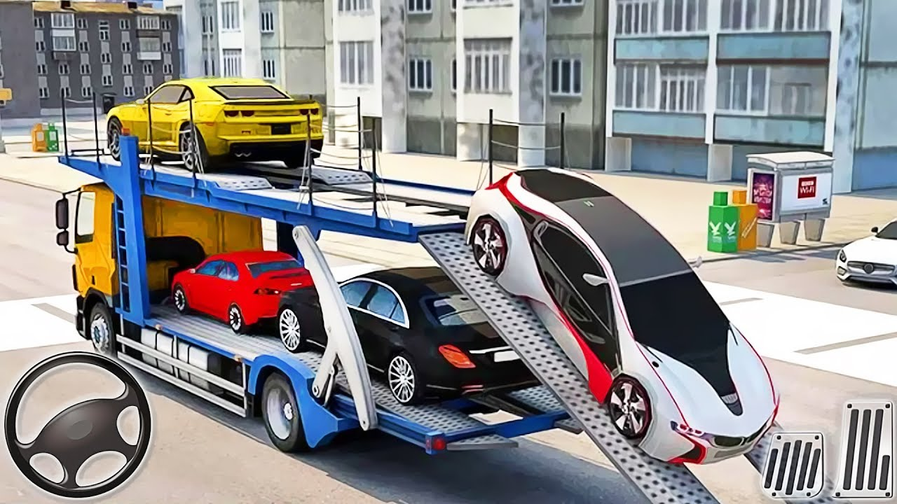 Car Truck Transporter Simulator- Multi Cars Transport 3D Vehicles – Android GamePlay