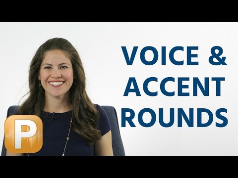 Voice And Accent Rounds - Interviewing With An American Company