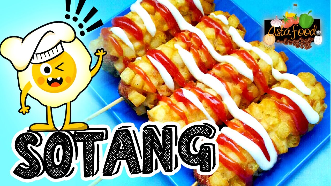 Sotang Sosis Kentang Fried Sausage With Potatoes Eng Subtitle