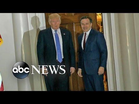 Trump Interviews Potential Cabinet Members