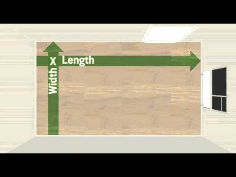 How To Measure Up For Laminate Flooring Youtube