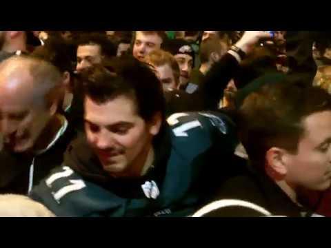 Philadelphia Eagles Fans Celebrate On Broad Street After Winning Super Bowl LII/52!