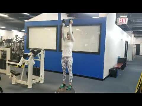 New U Fitness Kensington MD - Amanda On A Metabolic Circuit