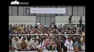 2012-10-02 Schmähfilm - Muslime protestieren friedlich, verurteilen muslimische Reaktion