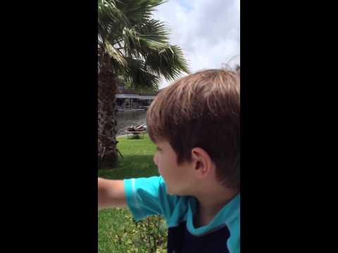 Crabbing in Bayou Vista