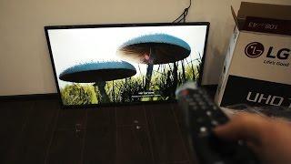 Телевизор LG 43UH671 - небольшой обзор.