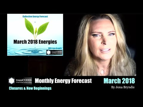 MARCH 2018 Energy Forecast with jona bryndis