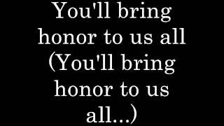 Honor to Us All Lyrics