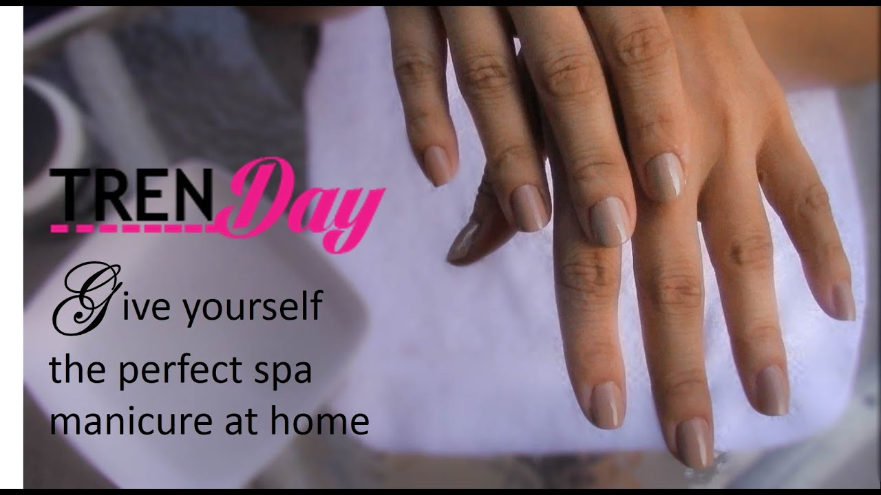 Diy spa manicure at home youtube diy spa manicure at home solutioingenieria Image collections
