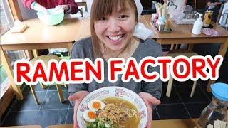 Make your own ramen!!   RAMEN FACTORY in KYOTO (100% Halal certified)