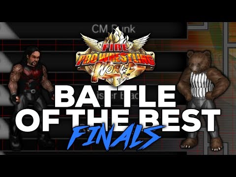 Fire Pro Wrestling World | WWE - NJPW - TNA WRESTLER TOURNAMENT FINALS